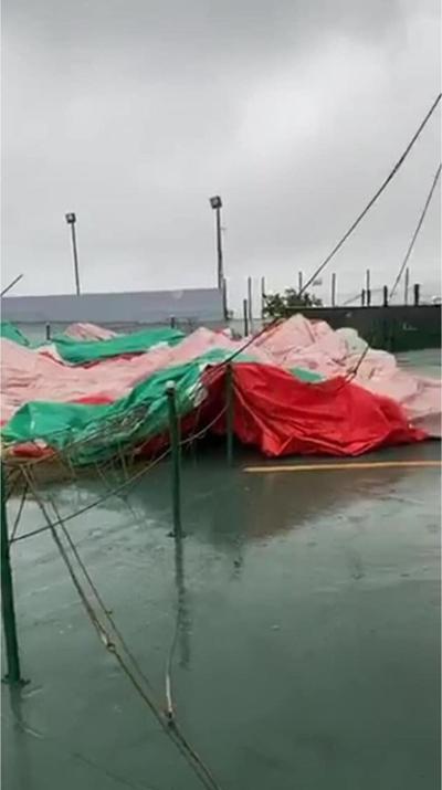 Globo aerostático de Jayuya no sobrevivió a tormenta Isaías