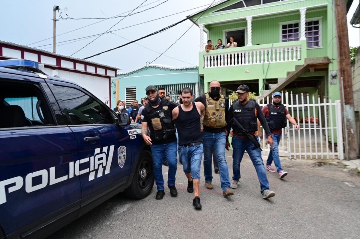 sospechoso de asesinar a policía en Ponce