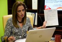 Rossana López denuncia mal uso de fondos públicos en Salud