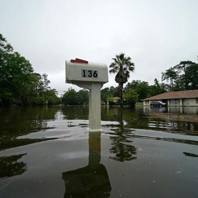 La depresión tropical Claudette provoca peligrosas inundaciones en el sur de EE.UU.