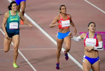 Alysbeth Félix cierra el héptalo en la sexta posición