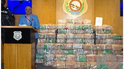 Las autoridades de República Dominicana confiscan 978 paquetes de cocaína