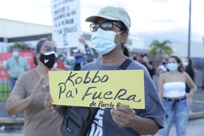 Manifestación contra La Comay