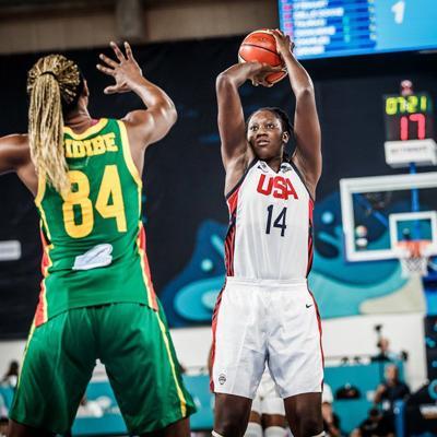 Diez jugadoras de la WNBA encabezan a Estados Unidos para el AmeriCup