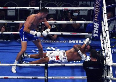 El boxeador dominicano Lenin Castillo se encuentra en buenas condiciones luego de un brutal nocaut