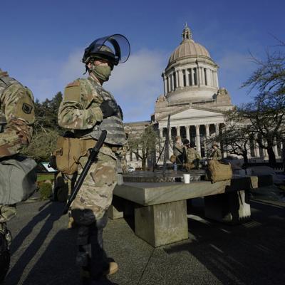 Estados Unidos se prepara para posibles marchas violentas esta semana
