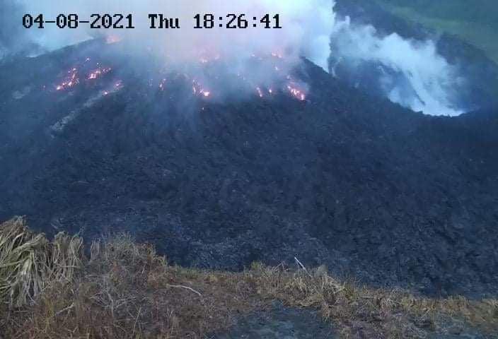volcan La Soufriere