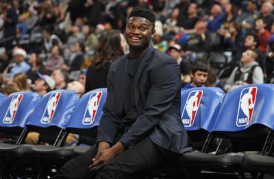 Zion Williamson regresa a entrenar con los Pelicans