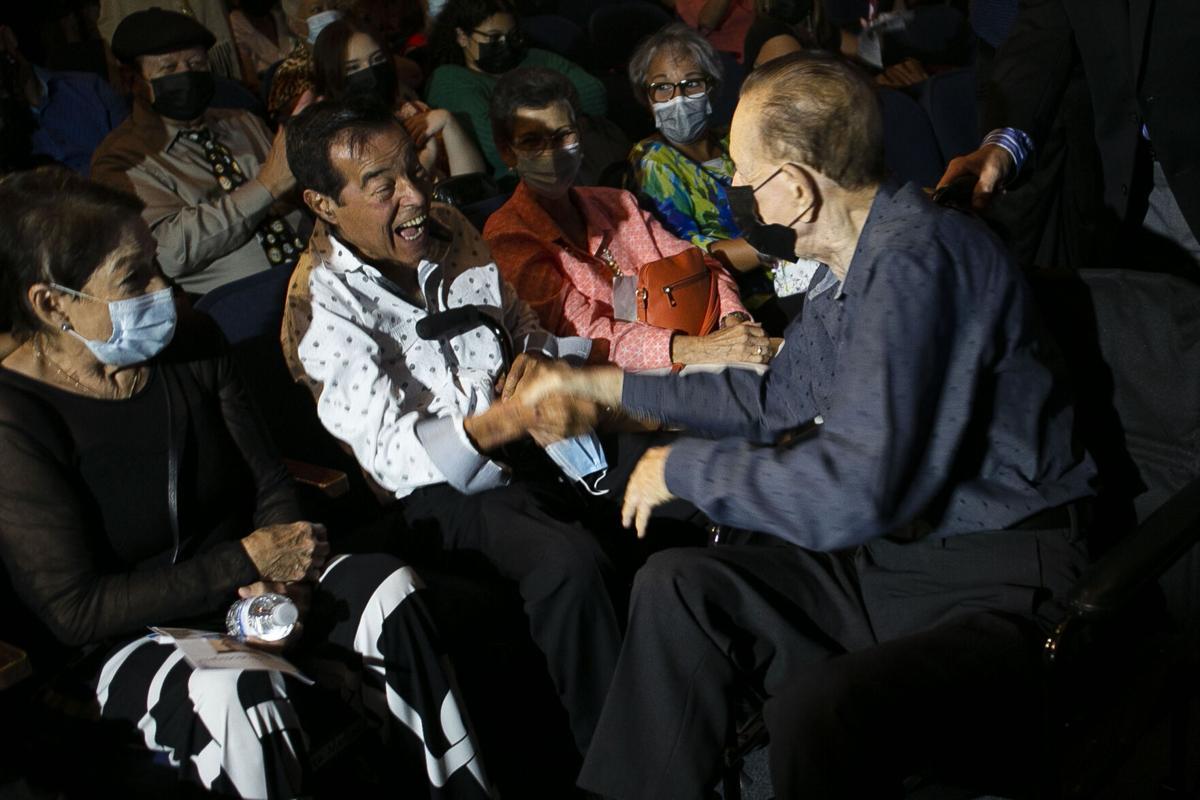 Ita Medina y Eddie Miró