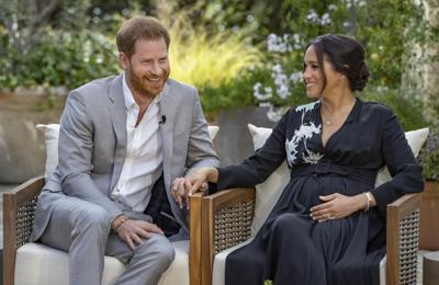 El príncipe Harry y Meghan Markle honran a las víctimas del atentado del 9/11