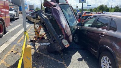 Accidente Walmart Caguas