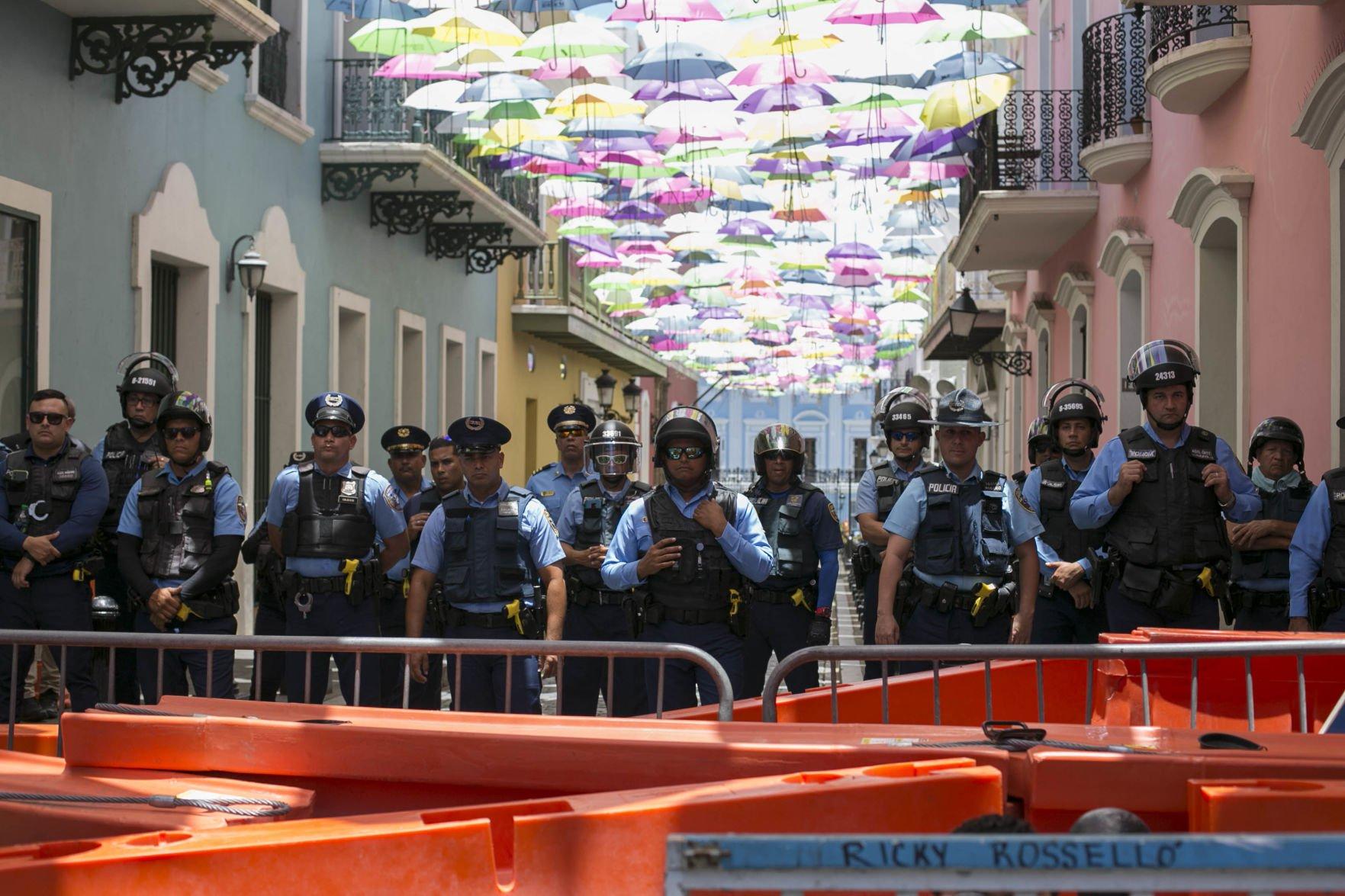 Policía pide ayuda al municipio de San Juan