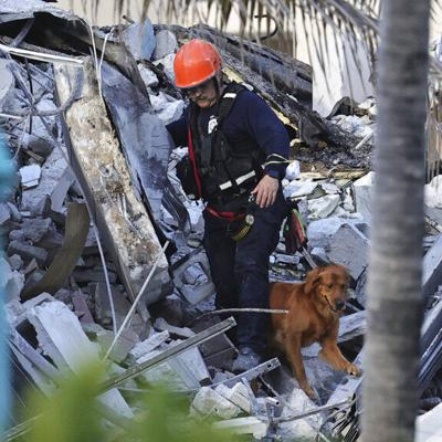 Se temen muchas muertes en derrumbe de edificio en Miami