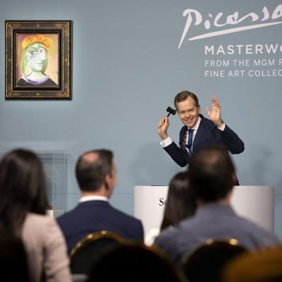 Venden 11 obras de Pablo Picasso por un total de $109 millones en Las Vegas