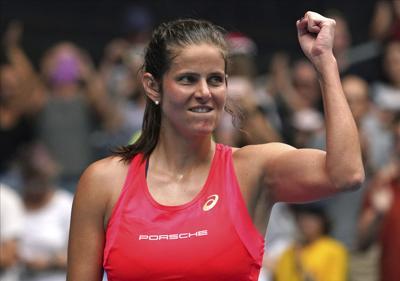 Tenista alemana Julia Goerges anuncia su retiro