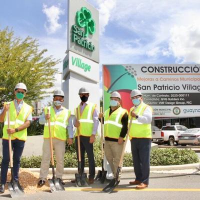 Inicia proyecto de mejoras en San Patricio Village