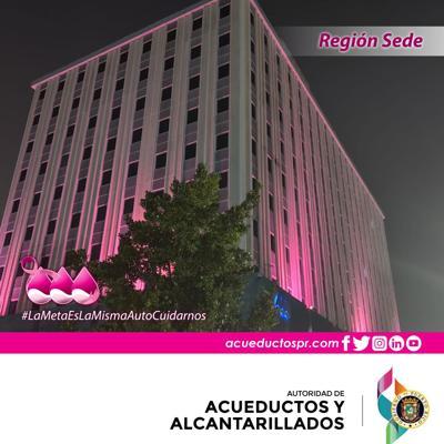 La AAA se pinta de rosa por el cáncer de seno
