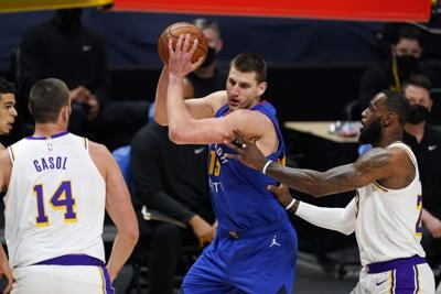 Lakers Nuggets Nikola Jokic