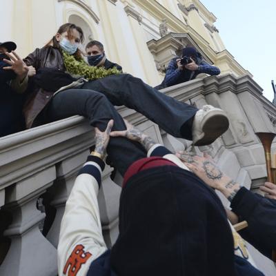 Protestas en Polonia contra ley de aborto