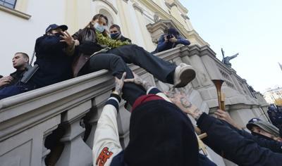 Polonia protestas