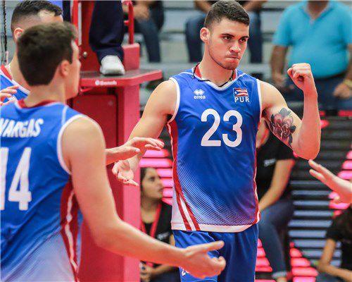Segundo triunfo para los boricuas en la Copa Panamericana de voleibol