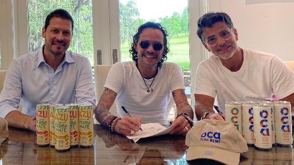 Marc Anthony entra al negocio de las bebidas energizantes