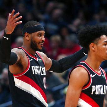 Pelicans estropean debut de Anthony con Blazers