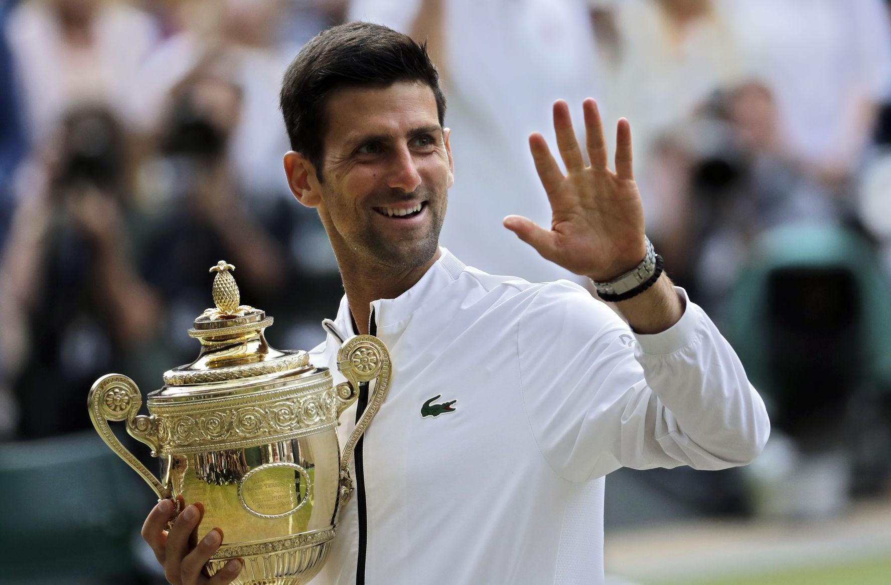 Djokovic vence a Federer y conquista Wimbledon