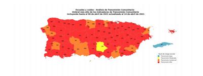 Estos son los 64 pueblos con transmisión comunitaria alta de covid-19