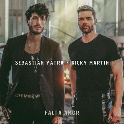 Sebastián Yatra y Ricky Martin lanzarán el tema Falta amor