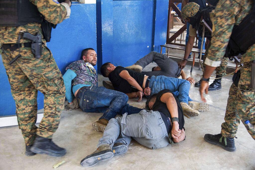 Sospechosos de asesinar al presidente de Haití