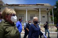 gobernadora en Ponce sismo
