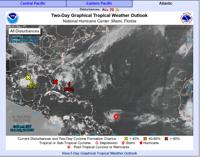 Se forma la tormenta tropical Dorian