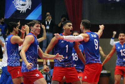 Auguran futuro prometedor para la nueva cepa de la selección masculina de voleibol
