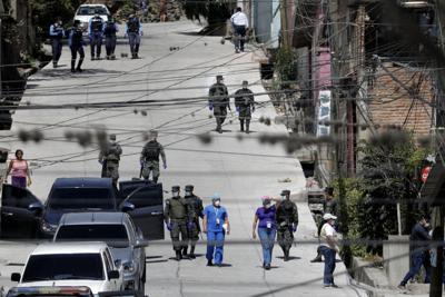 Virus Outbreak Honduras