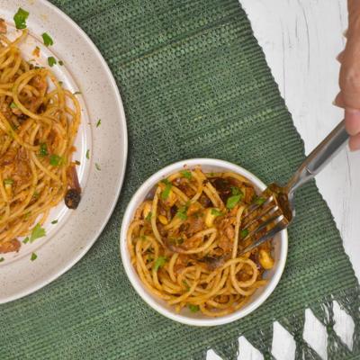 Receta de espaguetis con sardinas Coloso