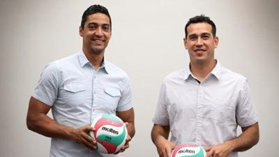 Picky Soto y Fernando morales