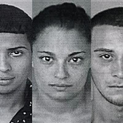 Encarcelan a tres jóvenes arrestados en allanamiento antidrogas