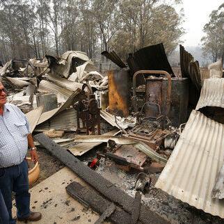 Alto riesgo de incendios forestales en sureste de Australia