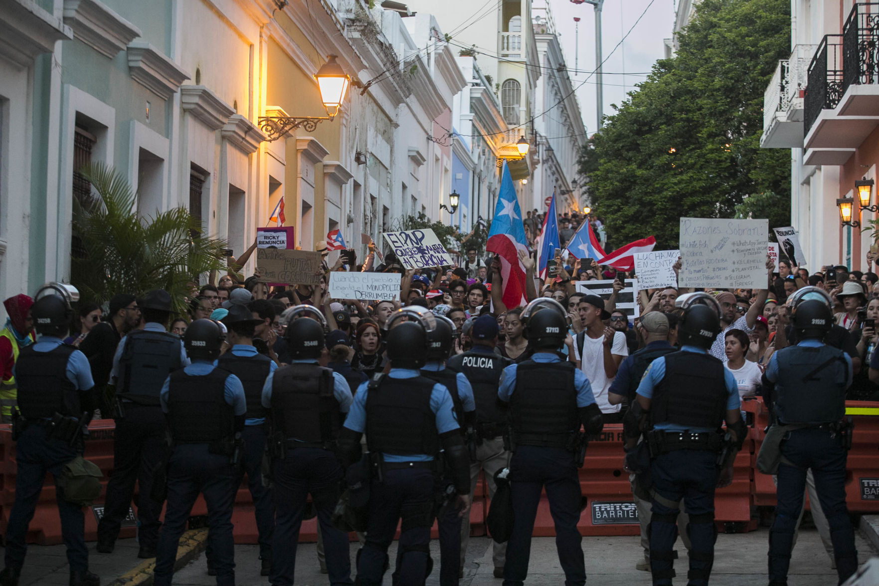 Escaleras ofrece detalles sobre manifestación en Viejo San Juan