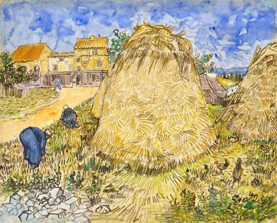 Una acuarela de Vincent van Gogh incautada por los Nazis será subastada en Nueva York