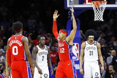 Con 34 de Harris, 76ers derrotan a Nets