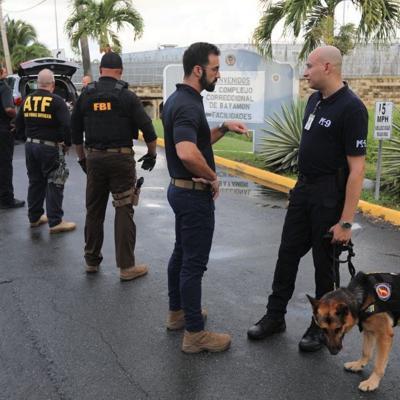Efectúan operativo en cárcel de Bayamón