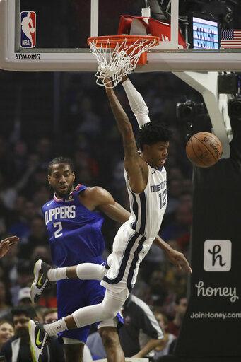 Grizzlies aprovecha ausencia de George y vence a Clippers