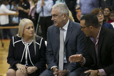 Wanda Vázquez y Thomas Rivera Schatz liman asperezas