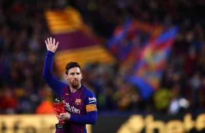 Cronología de la carrera de Messi en el Barcelona