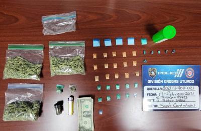 Arrestan por trasiego de sustancias controladas a dos jóvenes en Jayuya
