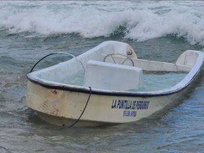 Detienen a dos migrantes en una embarcación frente a las costas de Aguada
