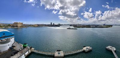 San Juan Port Panoramic