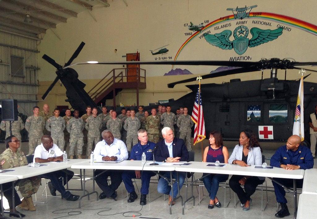 Vicepresidente de EE.UU. Mike Pence ya está en la Isla